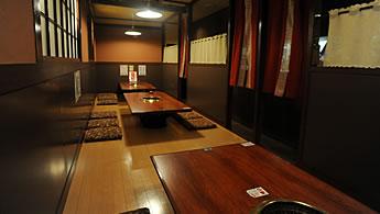 1階:お座敷席(20名様までご利用可能)