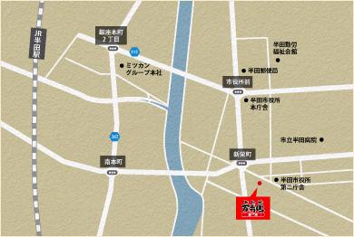 萬寿園周辺地図